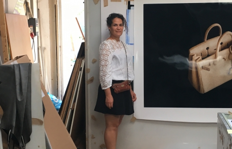 Liset Castillo en su estudio.