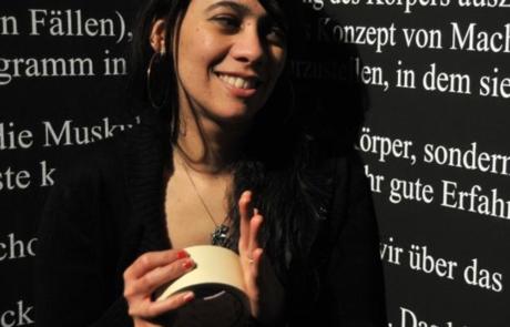 Retrato de Jeanette Chávez.